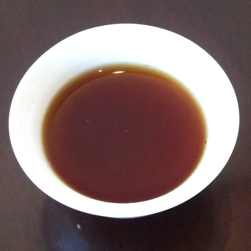 七五七二熟餅 2010年茶湯