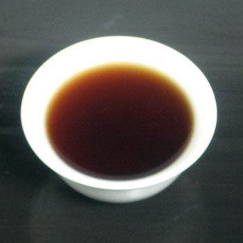 雲南沱茶2003年茶湯
