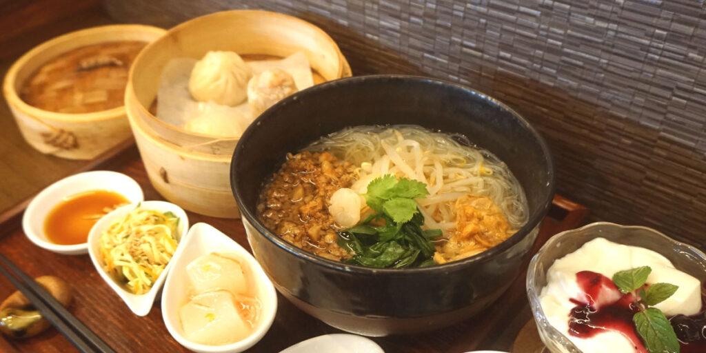 台湾汁ビーフンディナーセット